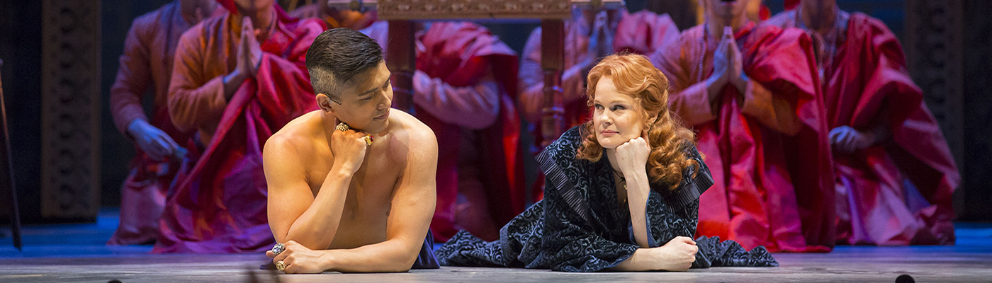 A scene from The King and I -  a Broadway musical at Lyric Opera of Chicago.