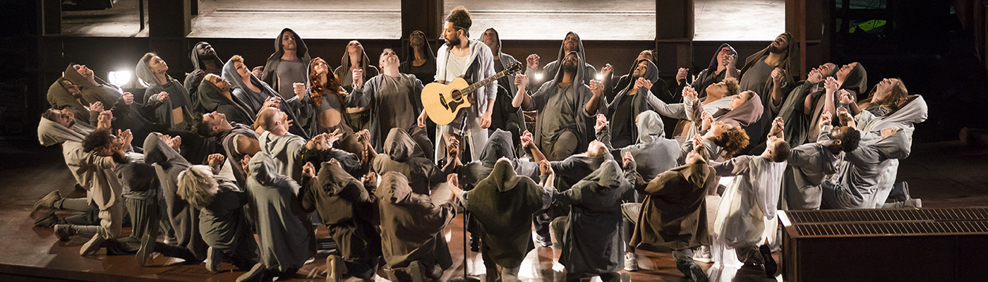 A scene from Jesus Christ Superstar at Lyric Opera of Chicago.