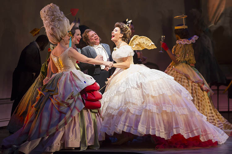 La traviata at Lyric Opera of Chicago.