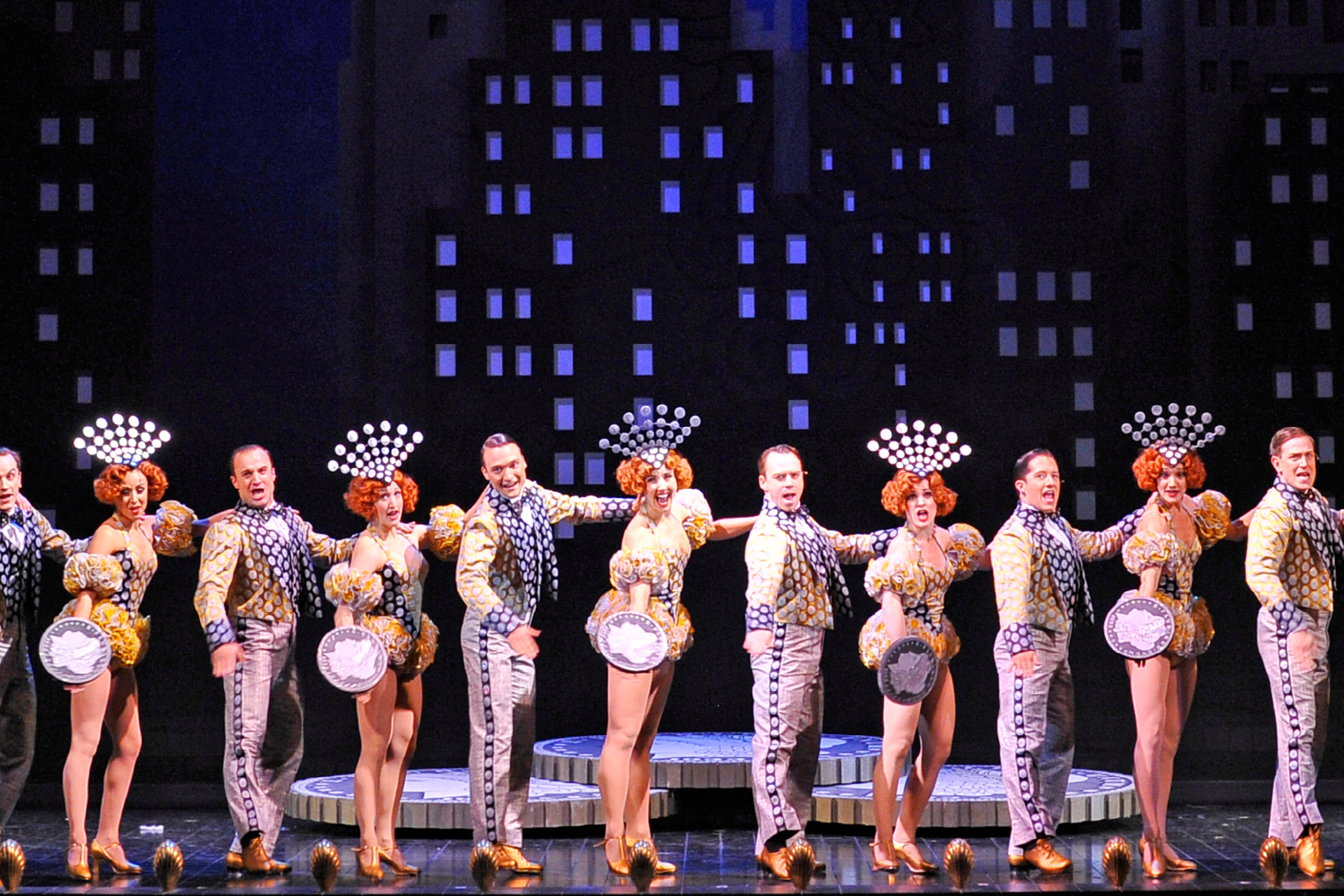 Broadway musical 42nd Street at Lyric Opera of Chicago.