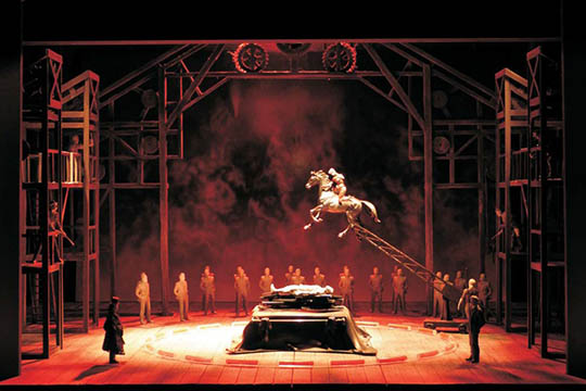 Gotterdammerung at Lyric Opera of Chicago - a Ring Cycle opera.