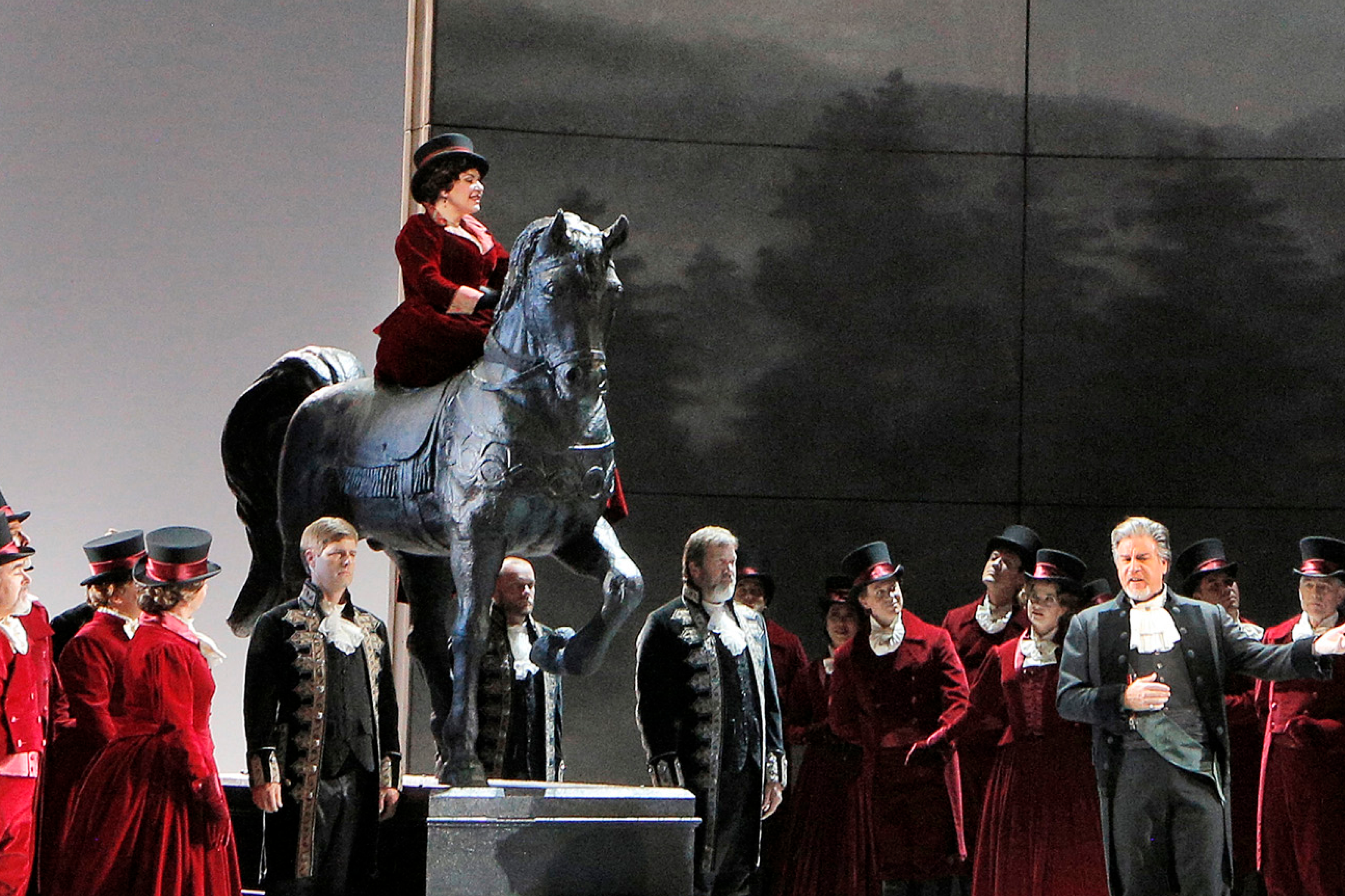 Luisa Miller at Lyric Opera of Chicago.