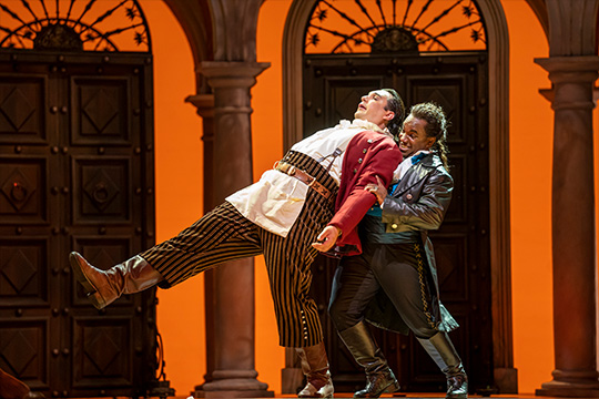 The Barber of Seville at Lyric Opera of Chicago.