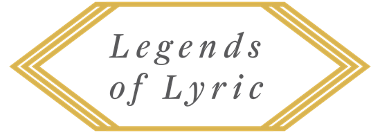 Legends of Lyric Logo - Singers from which legends are made.