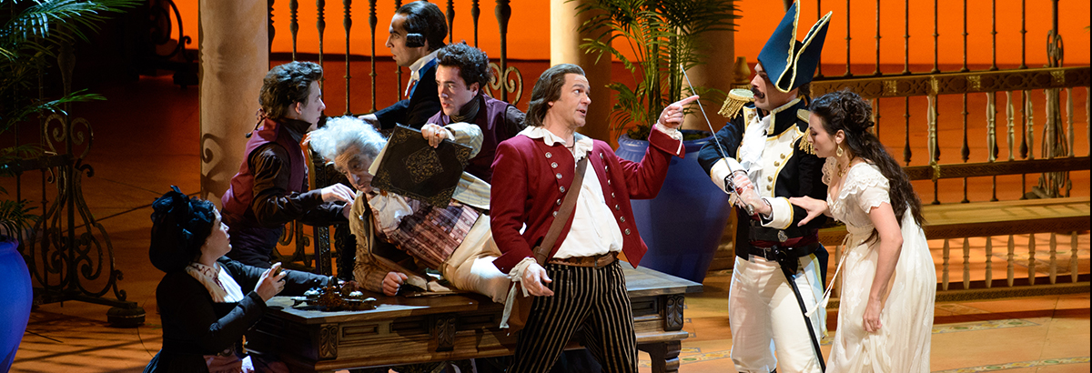 From 1816 to 2019: Where We See THE BARBER OF SEVILLE in Pop