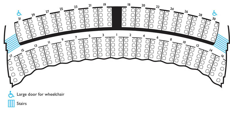 Lyric Opera seating chart - Mezzanine Boxes